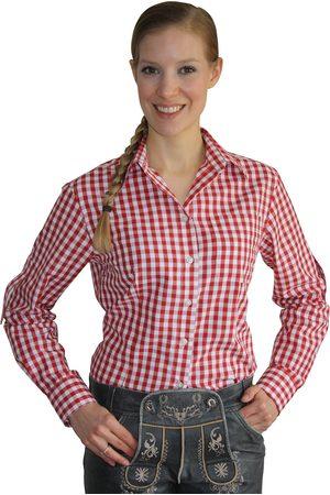Edelnice Damen Trachtenhemd kariert