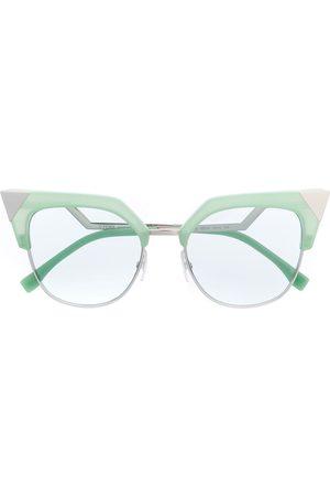 Fendi Sonnenbrillen - Cat-Eye-Sonnenbrille