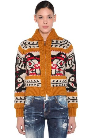 Dsquared2 Pullover Aus Wolle Und Mohair