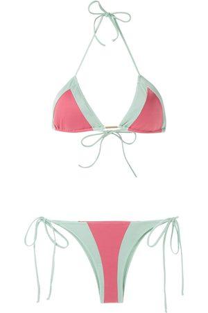 Brigitte Zweifarbiger Bikini