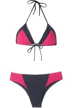 Brigitte Bikini in Colour-Block-Optik