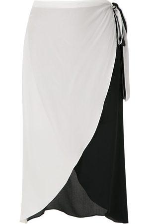 Brigitte Damen Freizeitkleider - Wickelkleid aus Seide