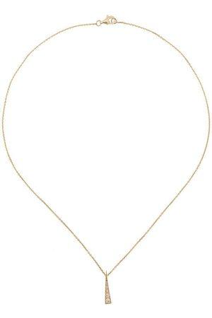 Daou Damen Halsketten - 18kt 'Spark' Gelbgoldhalskette mit Diamanten