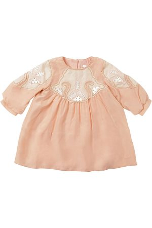 Chloé Embellished Silk Dress