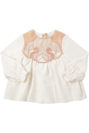 Chloé Embellished Silk Shirt