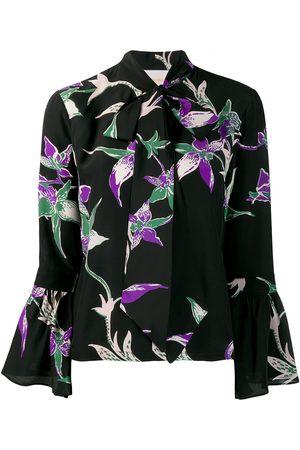 La DoubleJ Hemd mit Blumen-Print