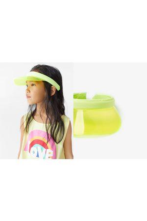 Zara Caps - Transparente schirmmütze in neonfarbe