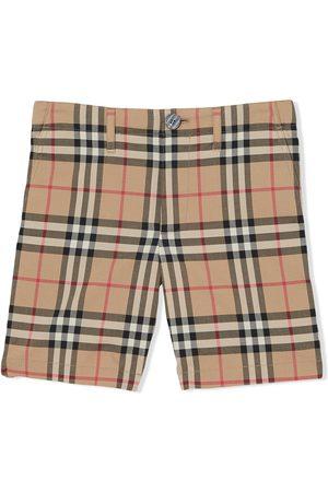 Burberry Karierte Shorts