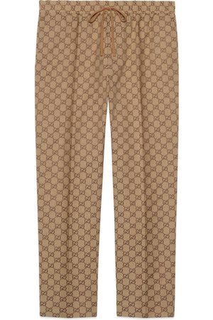 Gucci Jogginghose aus GG Canvas