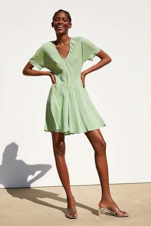 Zara Kleid mit kirschenprint