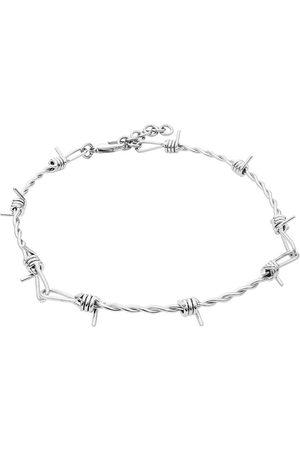 etNox hard and heavy Halsketten - Stacheldraht Halskette Standard