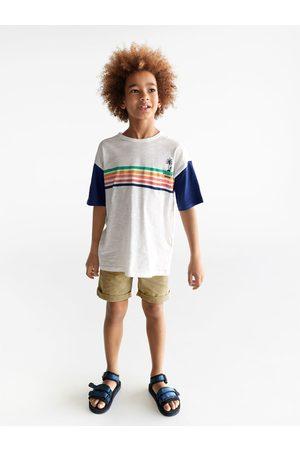 Zara Shirt mit palmenstickerei