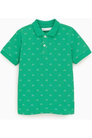 Zara Poloshirt mit print