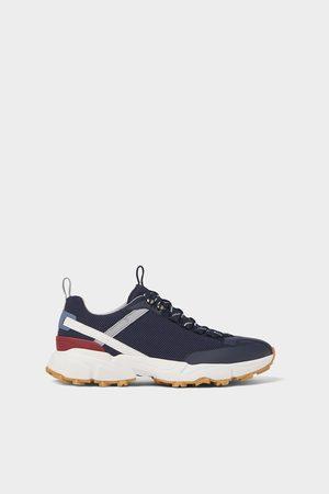Zara Sneaker aus stoff