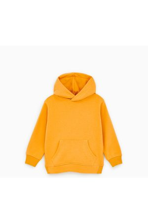 Zara Unifarbenes sweatshirt mit kapuze