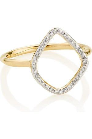 Monica Vinader Riva' Ring mit Diamanten