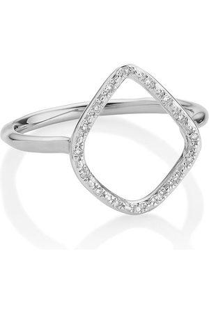 Monica Vinader Damen Ringe - Riva' Ring mit Diamanten