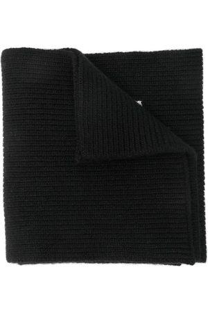VALENTINO Herren Schals - Strickschal mit Logo