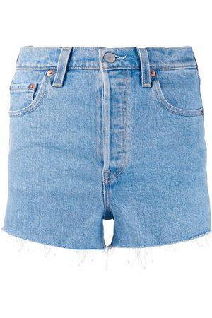 Levi's Ausgefranste Jeansshorts