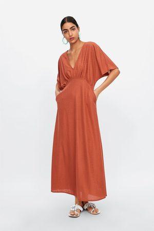 Zara Kleid mit strukturmuster