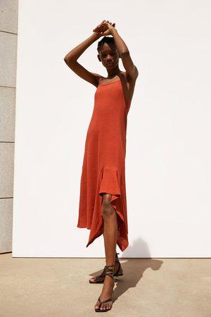 Zara Asymmetrisches kleid