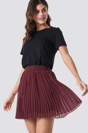 NA-KD Damen Miniröcke - Mini Pleated Skirt