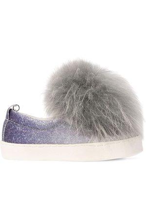 MONNALISA Slip-on-sneakers Aus Kusntleder