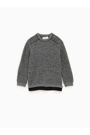 Zara Pullover aus materialmix
