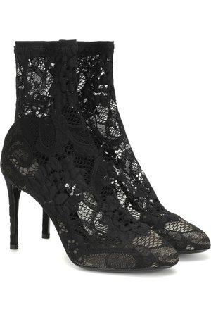 Dolce & Gabbana Ankle Boots Bette aus Spitze