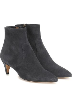 Isabel Marant Damen Stiefeletten - Ankle Boots Derst aus Veloursleder
