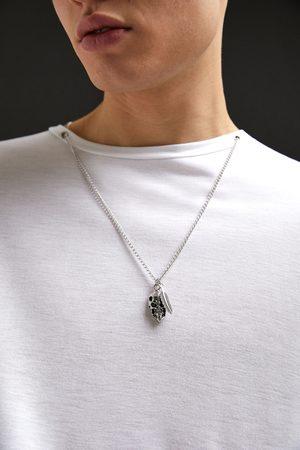 Zara Herren Halsketten - T-shirt mit halskette