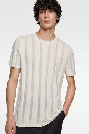 Zara Herren Pullover - Pullover mit streifen