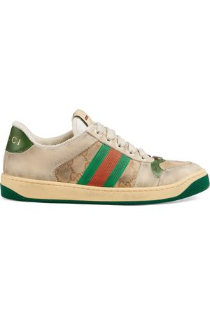 Gucci Damen Sneakers - Screener Damen-Sneaker aus Leder