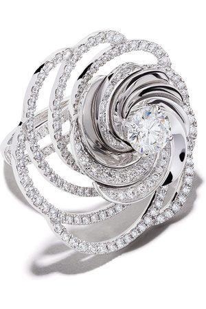De Beers Damen Ringe - 18kt Aria Weißgoldring mit Diamanten