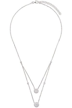 MONAN Damen Halsketten - Doppelsträngige Halskette