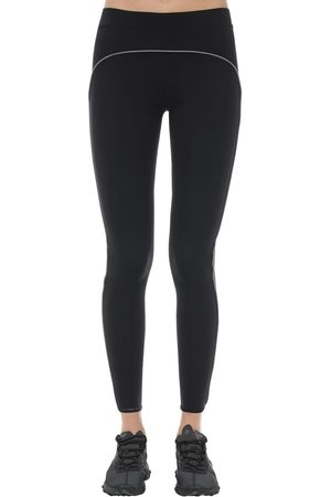 A-cold-wall* Stretch-leggings Mit Logodruck