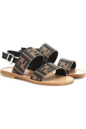Fendi Sandalen aus Leder