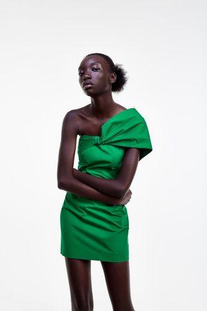 Zara Kleid mit drapiertem ausschnitt