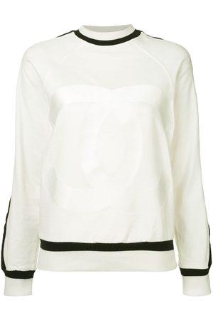 CHANEL Damen Pullover - Pullover mit Kontrastsaum