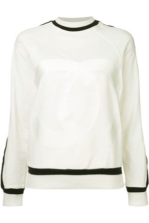 Chanel Pre-Owned Pullover mit Kontrastsaum