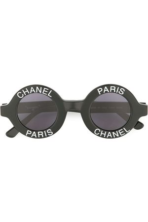 Chanel Pre-Owned Sonnenbrille mit CC-Logo
