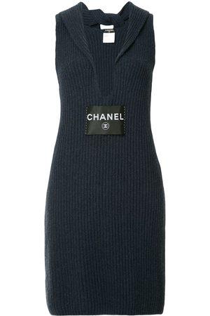 CHANEL Geripptes Kleid