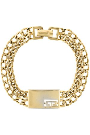 Givenchy Pre-Owned Damen Armbänder - Armband mit doppelter Kette