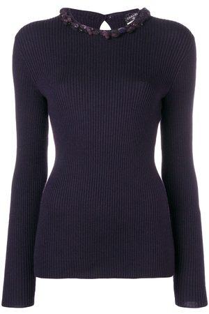 CHANEL Damen Pullover - Verzierter Pullover