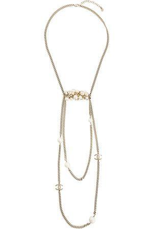 CHANEL Interlocking CC layered necklace