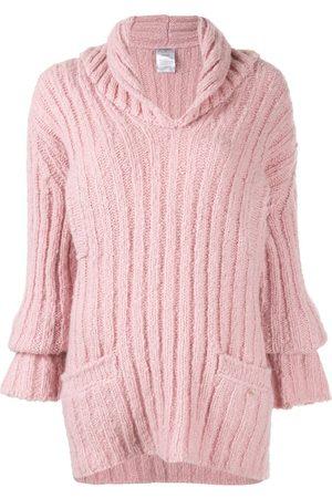 CHANEL Damen Pullover - Gerippter Pullover