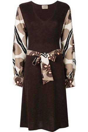 Hermès Pre-owned Kleid mit Gürtel