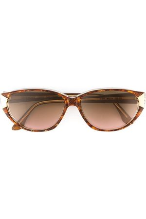Givenchy Pre-Owned Gemusterte Sonnenbrille