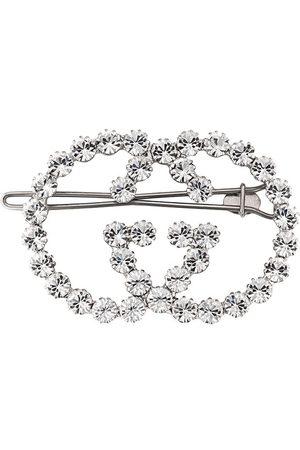 Gucci Haarclip mit Kristallen
