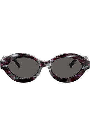 ALAIN MIKLI Sonnenbrille mit Print